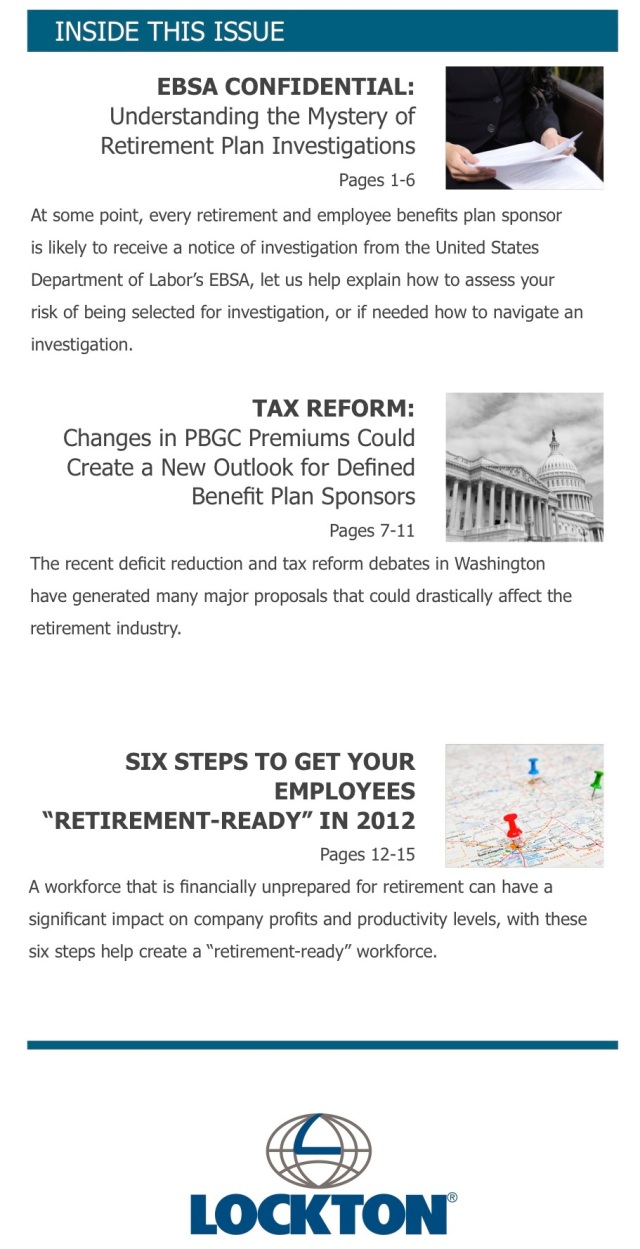 Lockton Retirement Services