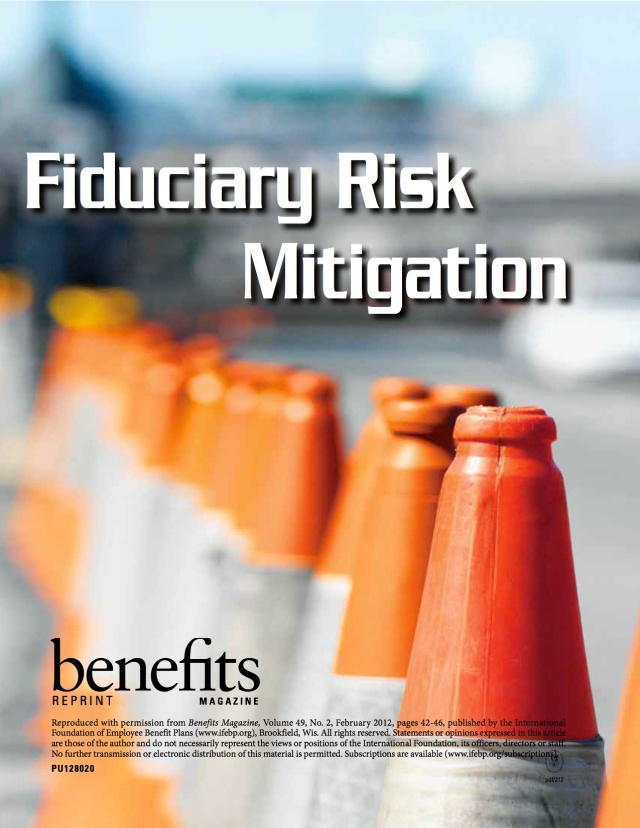Fiduciary Risk Mitigation